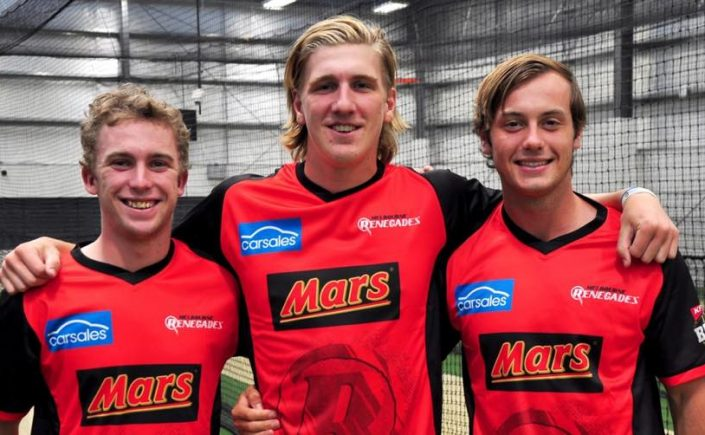 Mackenzie Harvey, Will Sutherland and Zak Evans